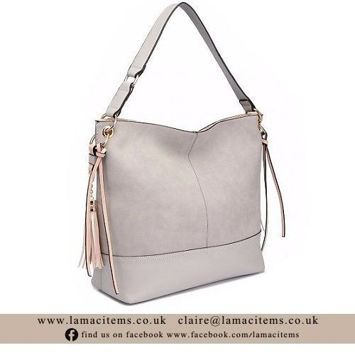 Frosted Leather Slouch Bag - Online Exclusive