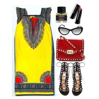 Uzbek tunic dress by thestyleartisan