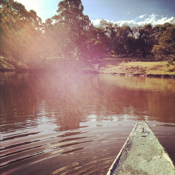 Take your canoe out on the water at Warmbaths dam.