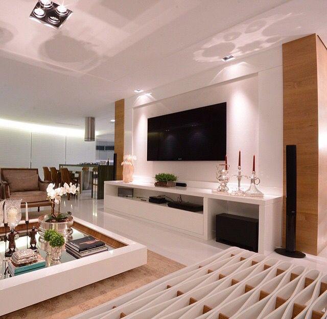 Linda Sala De Estar. Design InteriorsTv InstallationHome TheaterRoom IdeasTv  WallsLiving ... Part 70