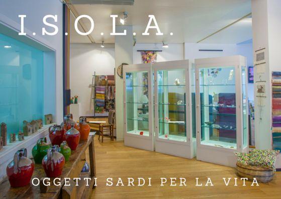 I.S.O.L.A. a soli 200 metri dal THotel, Cagliari. Oggetti sardi per la vita!