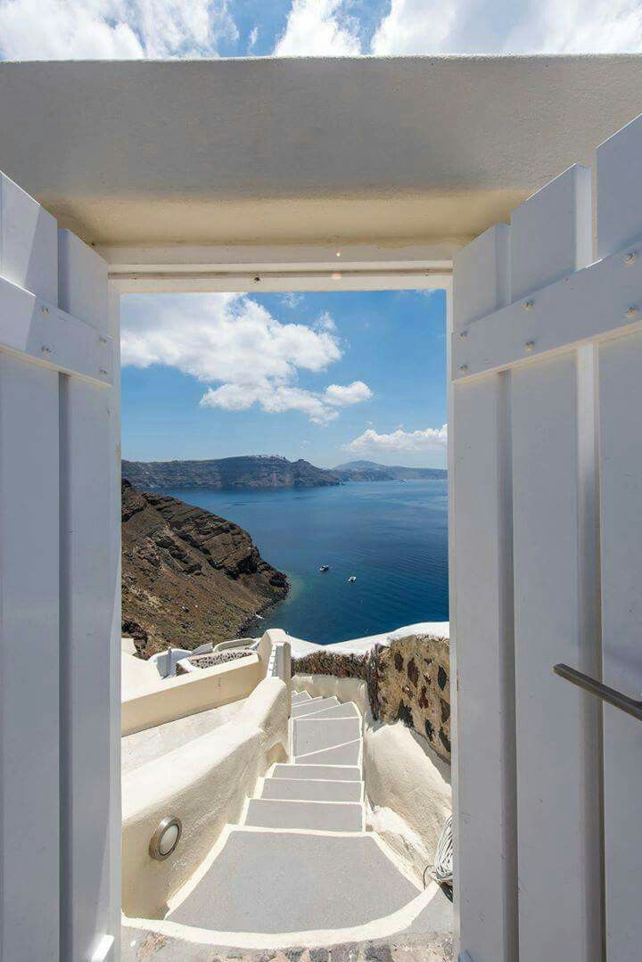 Santorini, sea view
