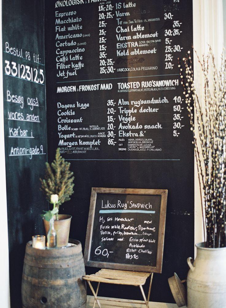 1000+ ideas about Blackboard Menu on Pinterest
