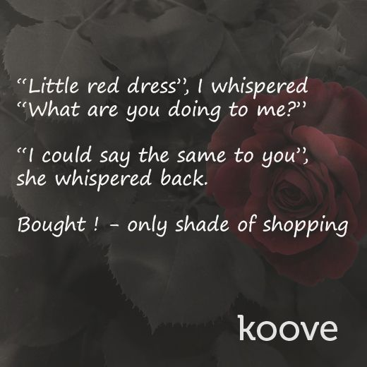 That chemistry between you and your dress #shopaholic #BuyOnKoove