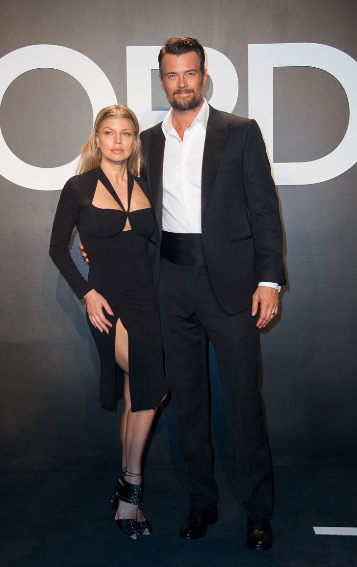 Pin for Later: Stars Turn Tom Ford's Runway Show Into an Event of Epic Proportions Fergie and Josh Duhamel