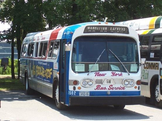 Ny City Bus Gm Fishbowl Bus Board Pinterest Buses
