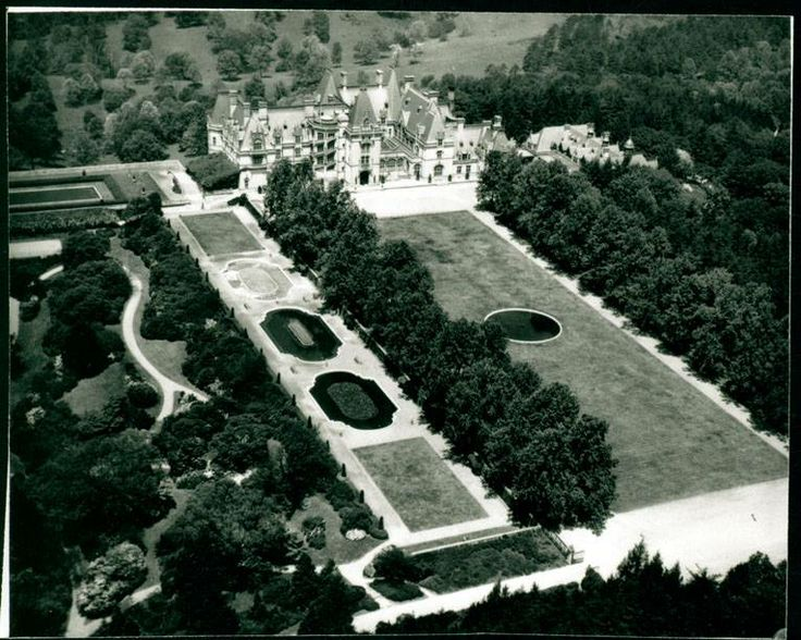 Biltmore House Exterior Aerial View With Pool Amp Tennis