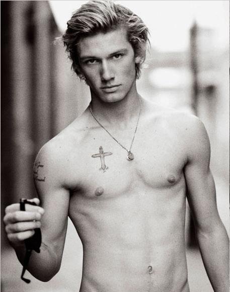 Original inspiration for Sebastian Eden (and yes, I do always imagine Seb with his shirt off...)