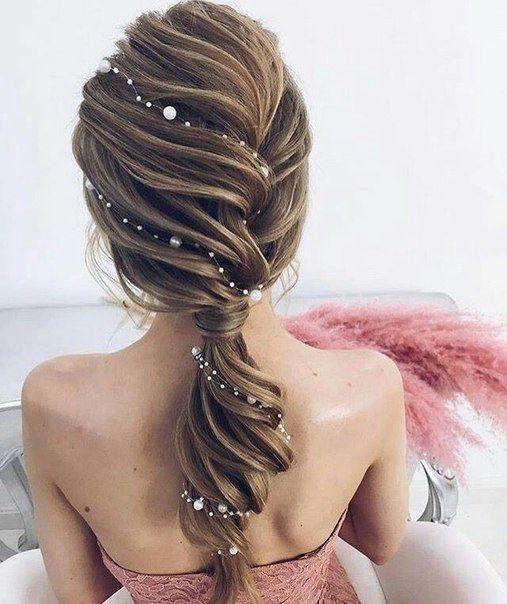 Wedding hair vine pearl Bridal headpiece Hair Accessories  Delicate Hair Piece wreath for bride Head
