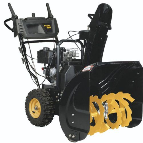 Best Selling Snow Blowers:  Poulan PRO PR241 - 24-Inch 208cc Two Stage Electric Start Snowthrower -961920092