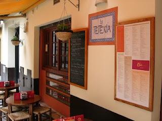 """La Teteria in Malaga draws you in"" - Lahikmajoe blogs about tea life in Spain."