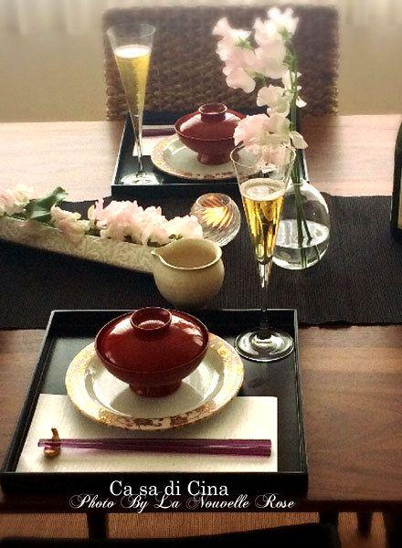 Ca sa di Cina ~素敵な和食レッスン|La Nouvelle Rose パリスタイルのフラワーとテーブルコーディネートサロン 三鷹 武蔵境