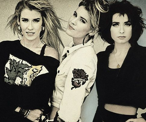 Bananarama. Somehow an almost anti-girl group that then evolved into one of the most slick, pop friendly of British Girl Groups. At the time a more successful sales record than The Supremes in their homeland. Who doesn't remember bouncing around their bedroom to 80s Pop anthem 'Venus', 'I Heard a Rumor' or 'Love in the First Degree'. It's 'A Cruel Summer' without the Bananas as soundtrack!