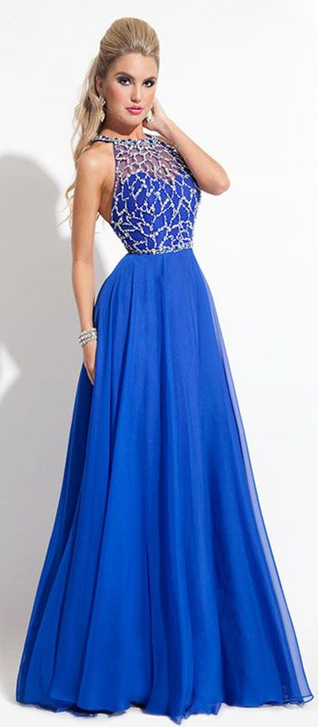 25  best ideas about Blue dresses on Pinterest | Pretty dresses ...