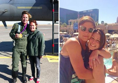 They should probably stop before they hurt themselves, or others. | Abby Wambach And Sarah Huffman Are The Couple To End All Couples