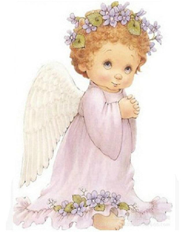 Открытка днем, открытки ангелочка