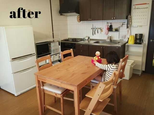 狭いキッチンのレイアウトを変更してみた その1 狭いキッチン