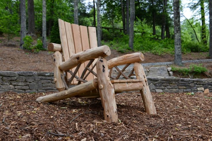 Rustic Outdoor Furniture by Appalachian Designs
