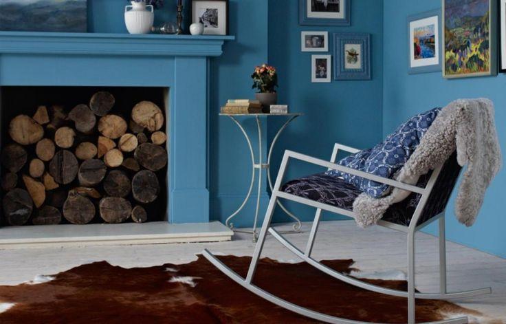 ide dcoration maison en photos 2018 image description peinture salon 2 couleurs ou unie en 26