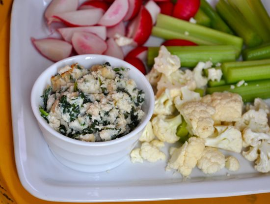 Warm Spinach and White Bean Dip: Warm spinach and cannellini beans ...