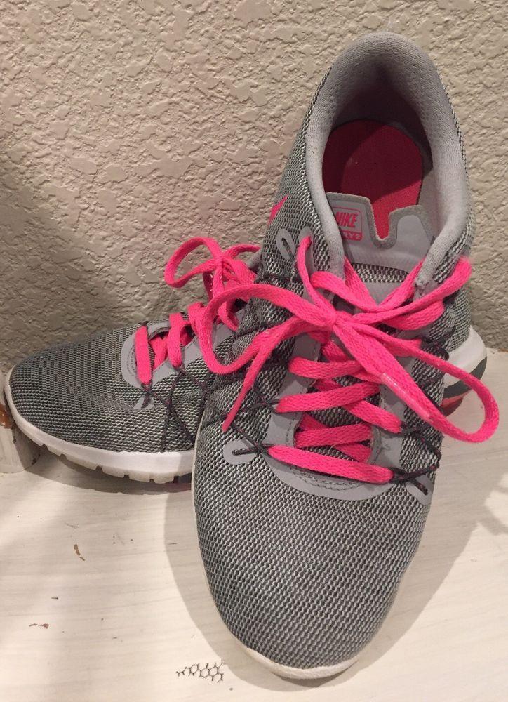 used girls nike shoes size 4 #fashion #clothing #shoes