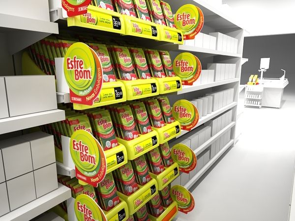 Point of Sale Project for Esfrebom Sponges by Mathias D'Andrea Modena, via Behance