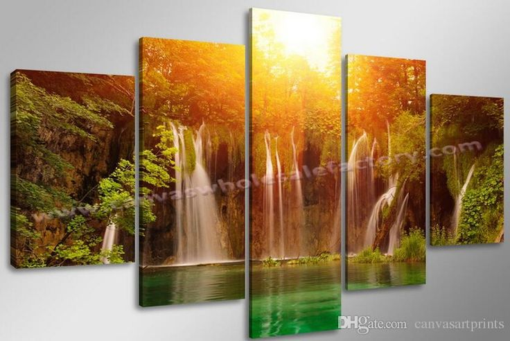 2016 Home Decor Canvas Art Prints Of Landscape Painting Photo On Canvas For Living Room Decoration Wall Art Canvas From Canvasartprints, $29.71 | Dhgate.Com