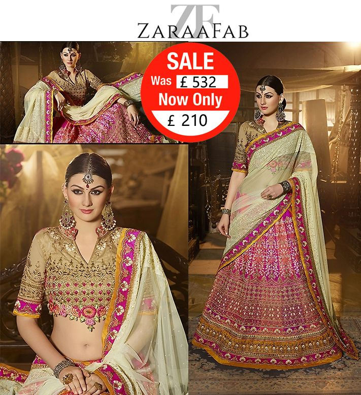 Buy stylish collection of wedding lehenga choli online from ZaraaFab. Explore latest lehenga designs for women in new patterns and top designs. Shop online at affordable price, Get free Shipping.  #trendy  #lahenga #choli #onlineshopping #indianoutfits #weddingseason #designerlehenga