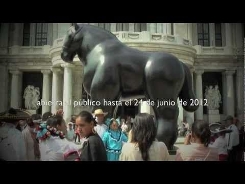 Fernando Botero en Palacio de Bellas Artes Mexico
