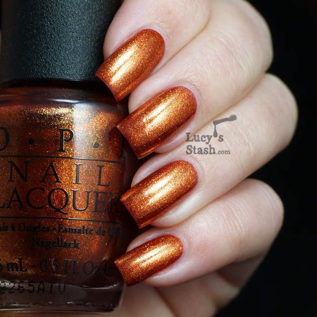 unique orange nail polish ideas