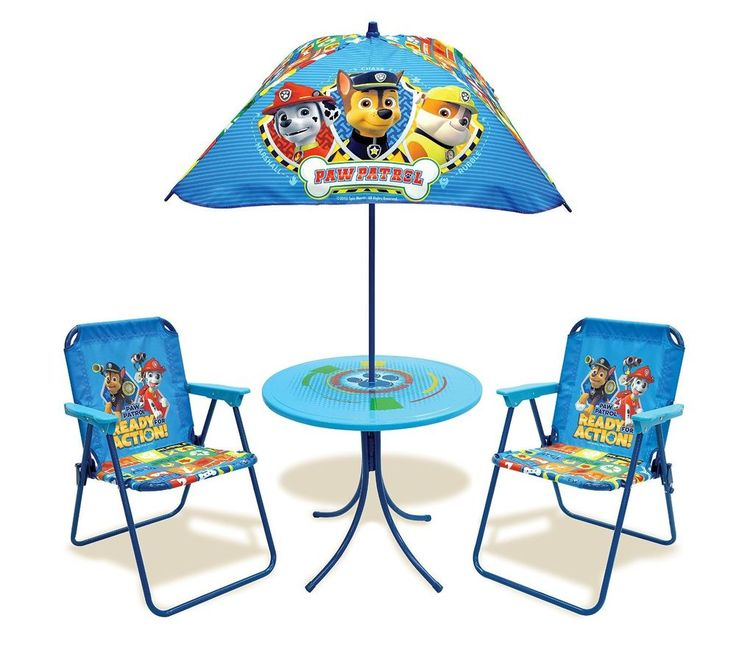 Kids Only Paw Patrol Classic Patio Set Model 22095310