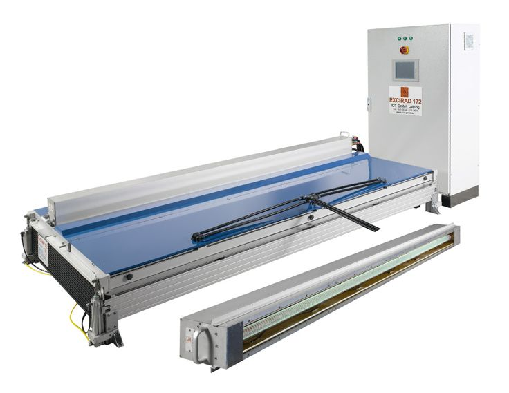 Excimer radiators for surface and printing applications