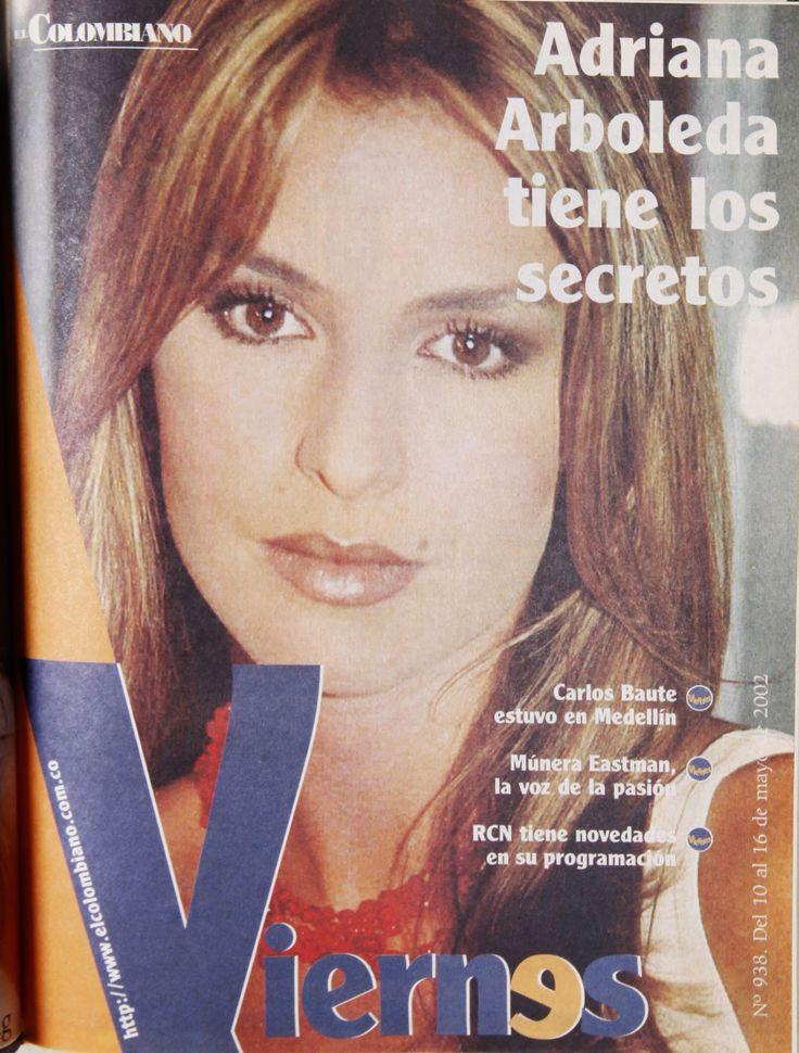Adriana Arboleda en una de las ediciones de nuestra Revista Viernes.