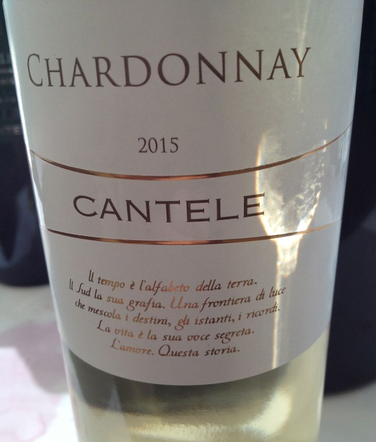 The Wines of Azienda Vinicola Cantele (Puglia)