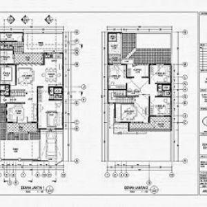 340+ denah rumah 2 lantai 8x12   denah rumah, rumah minimalis