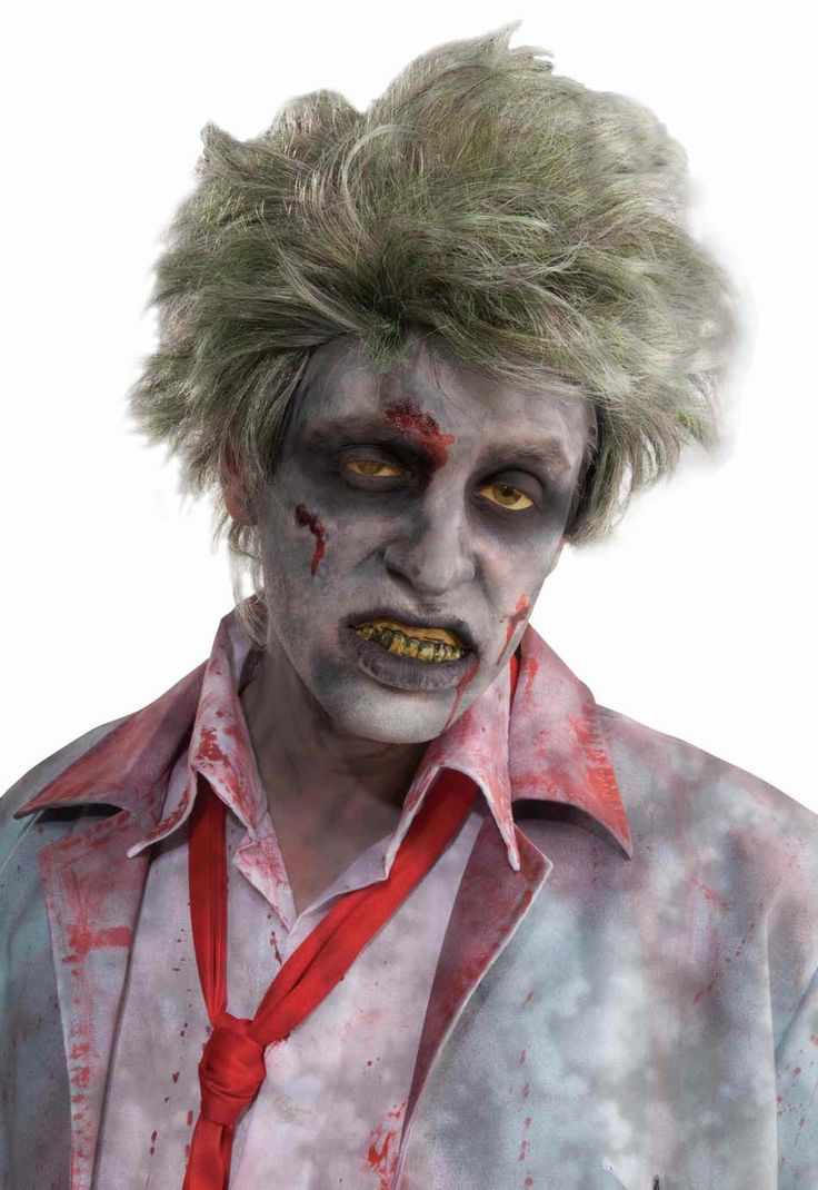 maquillage zombie pour homme