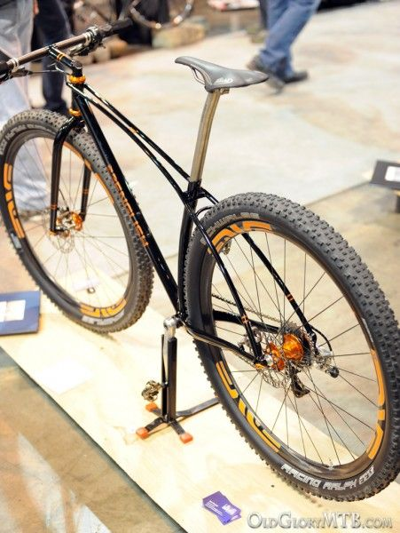 [2013 NAHBS] English Cycles - Custom Rigid 29er Mountain Bike