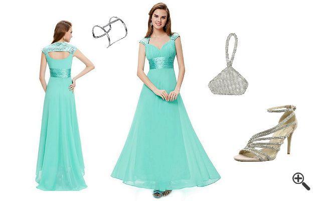 3Outfits für Trauzeugin wie... http://www.fancybeast.de/schoene-brautjungfernkleider-tuerkis-lang-outfit-fuer-trauzeugin/ #Brautjungfernkleider #Abendkleider #Türkis #Outfit #Trauzeugin #Kleider #Dress Outfit für Trauzeugin Schöne Brautjungfernkleider Türkis Lang