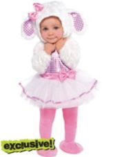 @Harleen Quinzel @Nancy Rotger OMG SO CUTE FOR FRANKIE?  Baby Little Lamb Costume - Party City