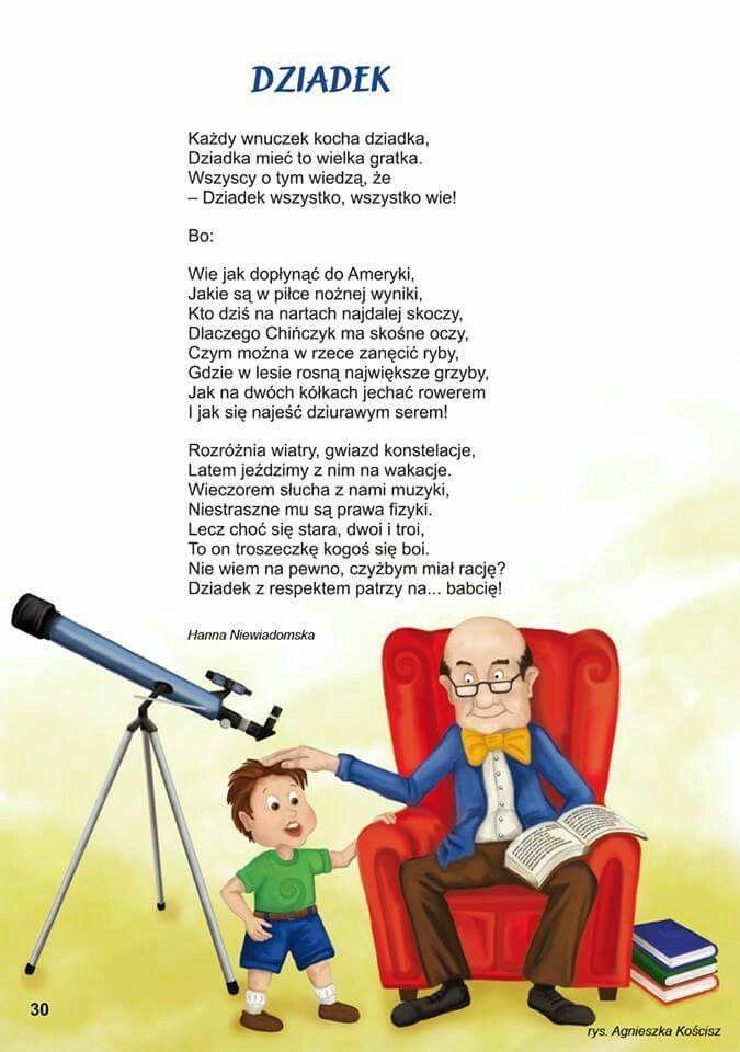 Dziadek - wiersz