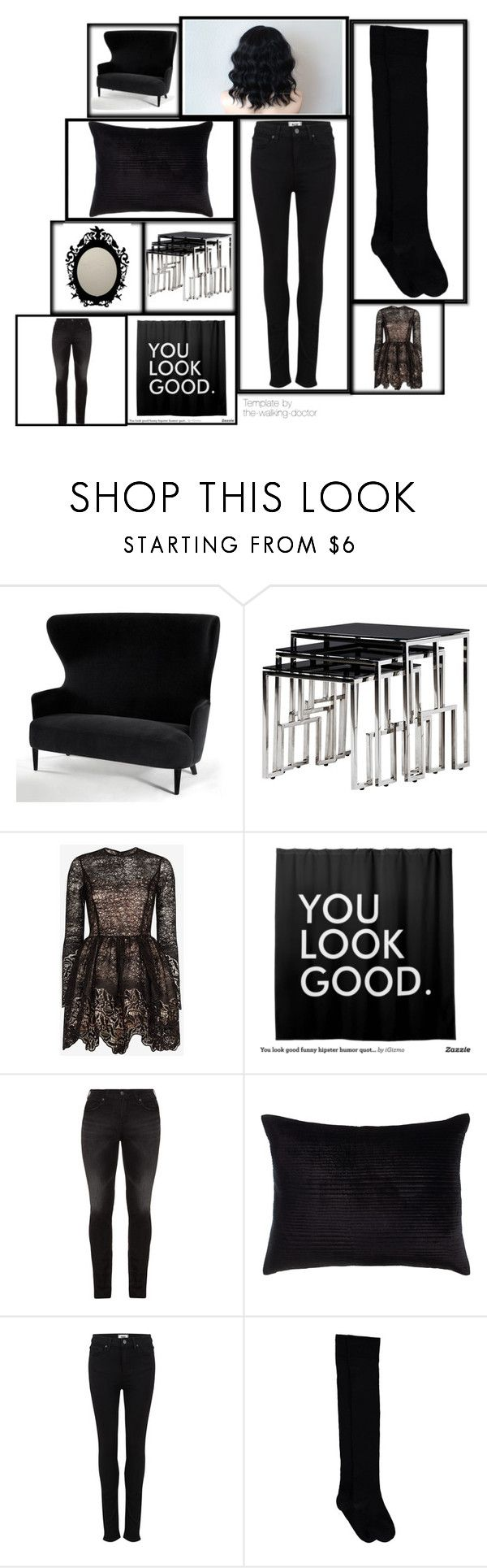 """Без названия #28"" by genri ❤ liked on Polyvore featuring Tom Dixon, Alexis, Humör, Silver Jeans Co., Callisto Home, Paige Denim, women's clothing, women's fashion, women and female"