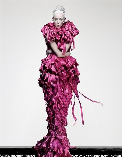 Tilda Swinton, AnOther Magazine S/S09  Photography Craig McDean, Styling Panos Yiapanis