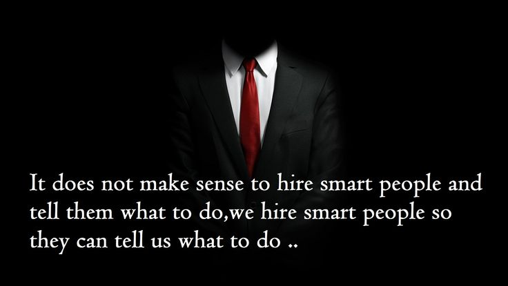 all organizations would benefit from hiring the smartest people they can get The many benefits that come from hiring self-motivated people once you bring this recruiting approach to any hiring manager's attention, they i am proposing an alternative approach which is hire the self-motivated and train for skills this is the recommended approach because i haven't.