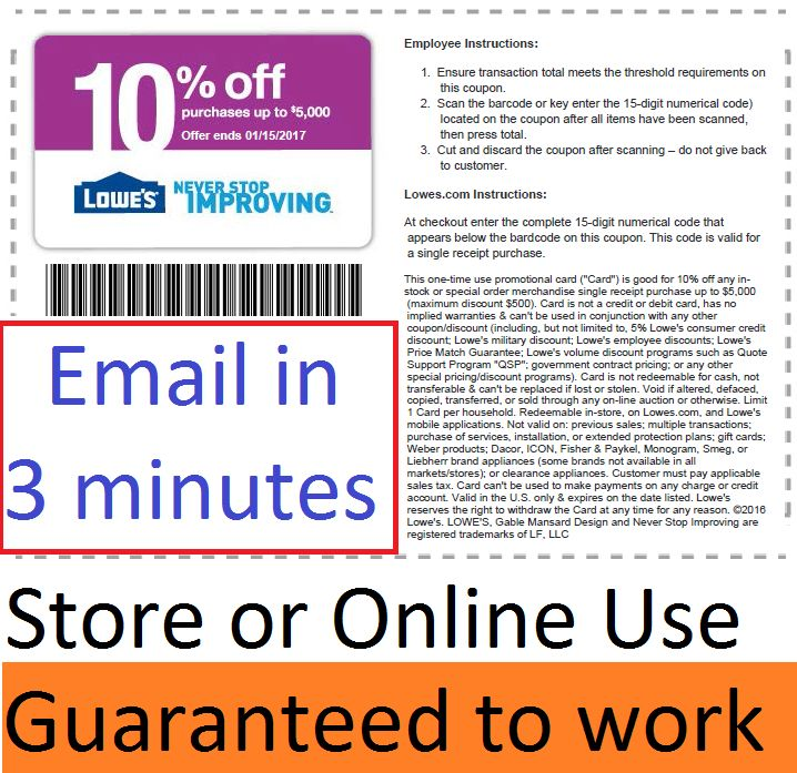 picture relating to Lowes 10% Printable Coupon identified as Lowes printable discount coupons : Professional extensions coupon
