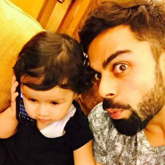 Picture Perfect: Virat Kohli's Adorable Selfie With Ziva Dhoni