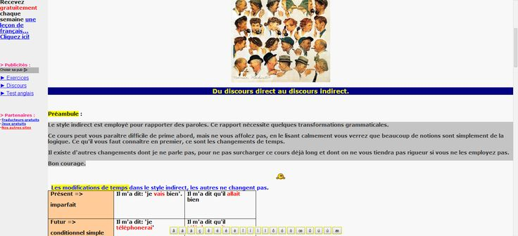 Les 25 Meilleures Id 233 Es De La Cat 233 Gorie Discours Direct Indirect Sur Pinterest Le Discours