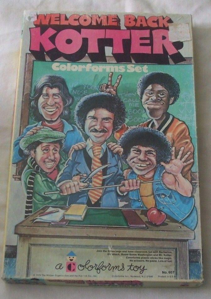 Welcome back Kotter Colorforms playset  tv show vintage 1976 #colorforms