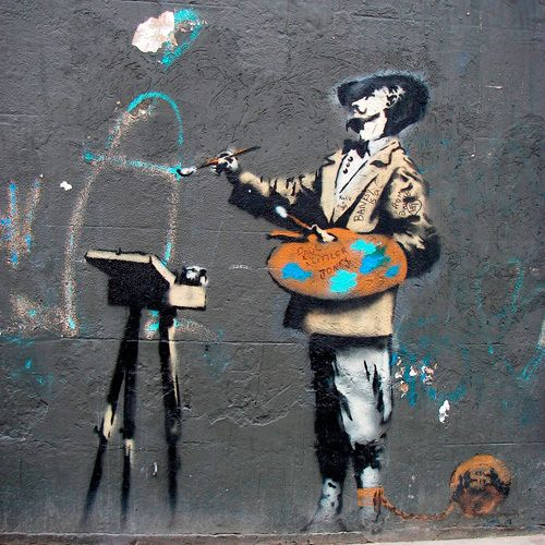 Banksy - Victoria Park Art Print by Banksy at King & McGaw