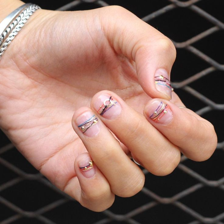 Best korean nail art : Nail ynyu top nails manicure faves favorite bracelet