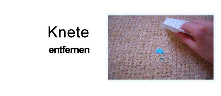 Knete entfernen: 3 Mittel zur Entfernung von Knete aus ...